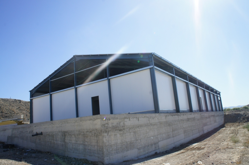 Agricultural Steel Shelter : Nk metals projects farm shelters